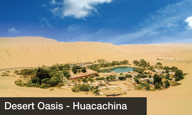 Day trips from lima - Oasis Huacachina