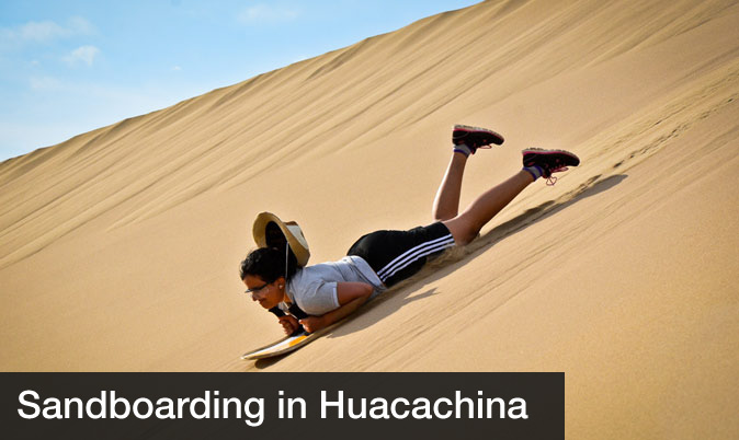 Day trips from lima - Sandboarding Huacachina