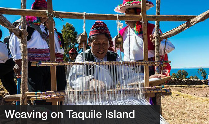 Day trips from cusco - Taquile Lake Titicaca